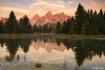 Teton Reflection ...