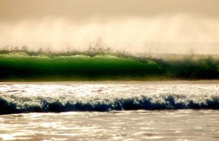Kool-Aid Green Waves