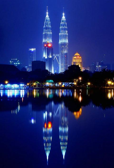Petronas Reflection