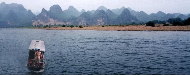 fisherwoman on Li(jang) River