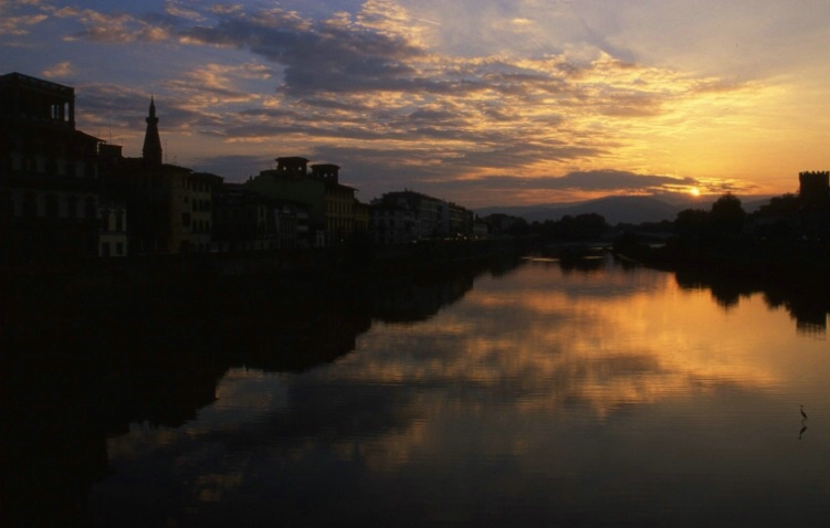 Arno River - Florence - ID: 3268286 © Larry Lightner