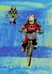 biking in space