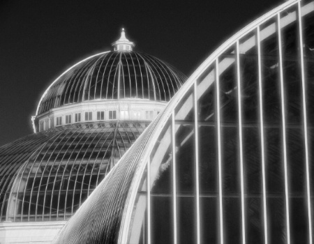 St. Paul Conservatory in Infared