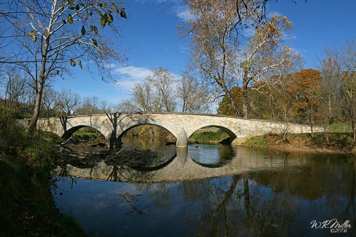Burnside Bridge (24 Photo Stitch)