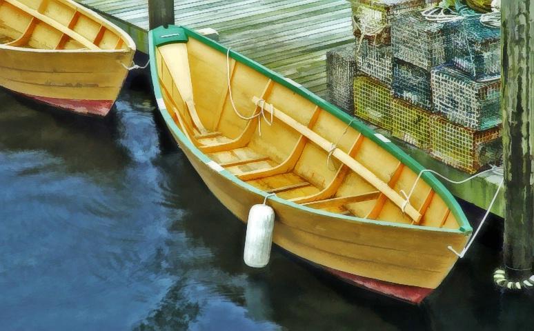 Seine Boat and Traps