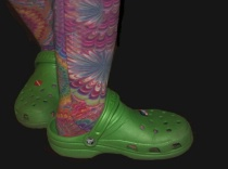 crocs & socks