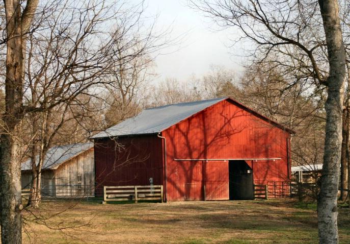 Barn - ID: 3356474 © Lisa R. Buffington