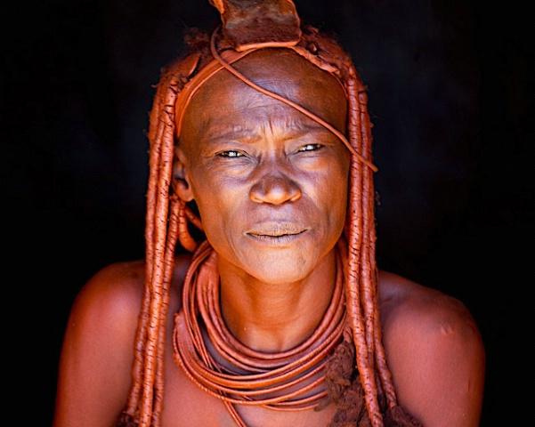 Himba Woman at a Himba camp, Namibia