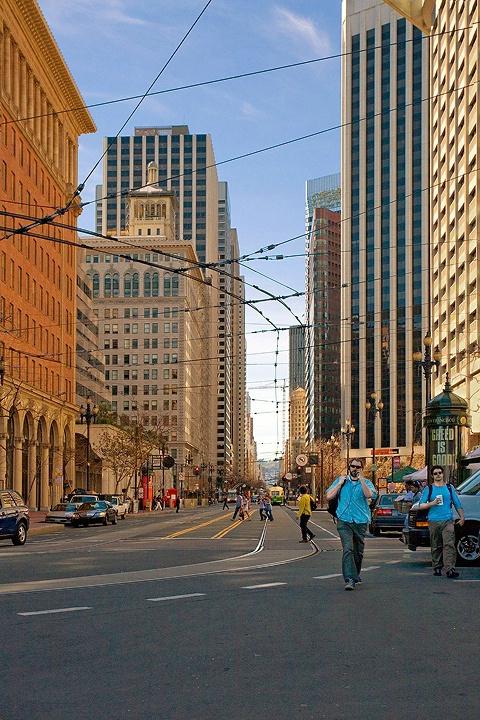 A Stroll Up Market Street