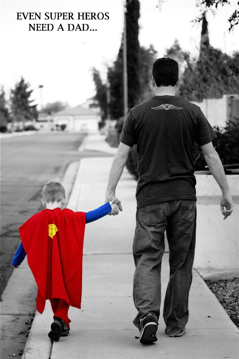 Even Super Hero's Need A Dad