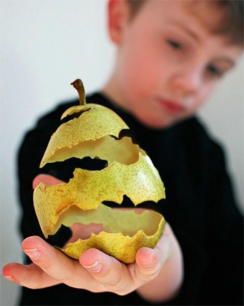 Magic Pear Peel