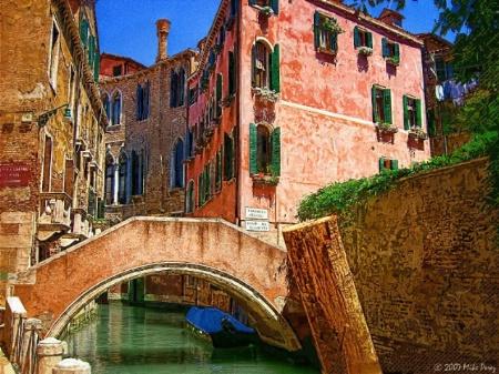 Ponte del Traghetto, Venice