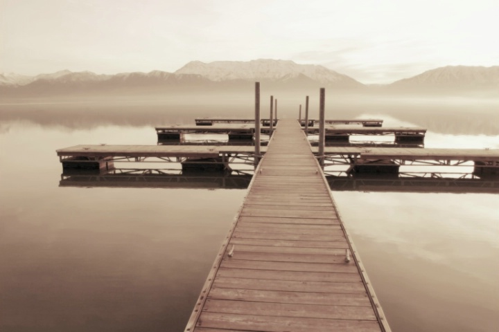 Morning on the Dock
