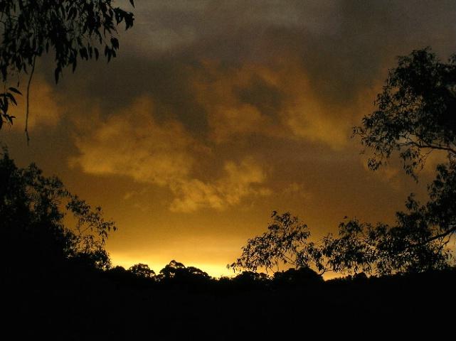 ~Stormy Sunset~