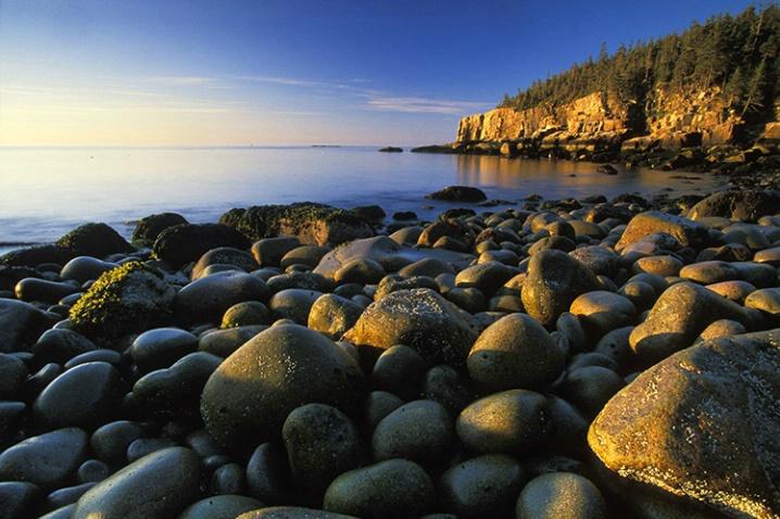 Boulder Beach, Acadia National Park - ID: 3578227 © Susan Milestone