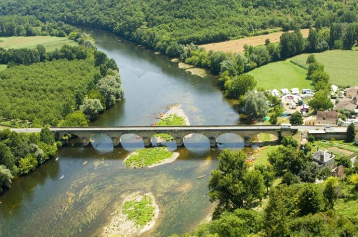 Bridge Over the Dordogne River, France - ID: 3585683 © Larry J. Citra