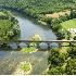 2Bridge Over the Dordogne River, France - ID: 3585683 © Larry J. Citra