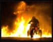 Motorbike on Fire