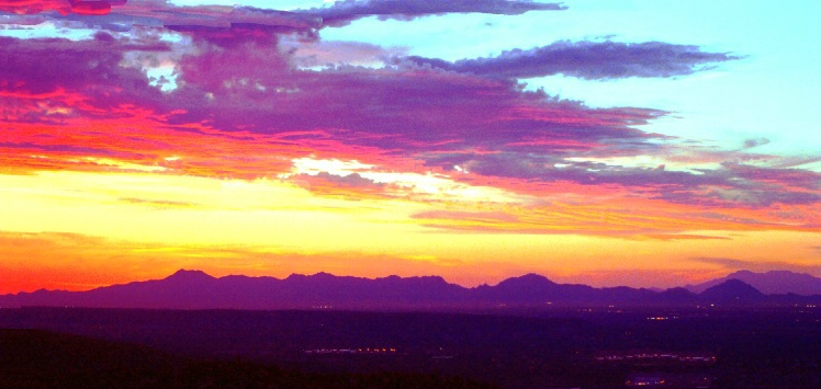 Tuscon Sunset-2 - ID: 3655246 © Thomas W. Keifer