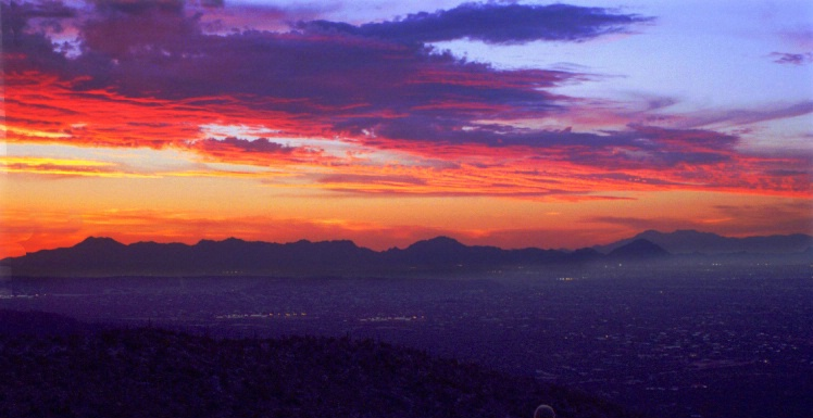 Tuscon Sunset-3 - ID: 3655247 © Thomas W. Keifer