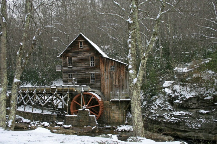 Grist Mill - ID: 3664101 © Lisa R. Buffington