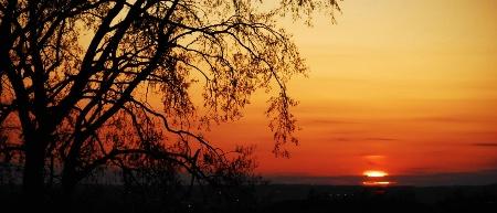SUNSET  OVER  KANSAS