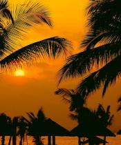 Sunset on Subic Bay