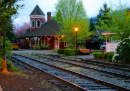 Snoqualmie Train Station