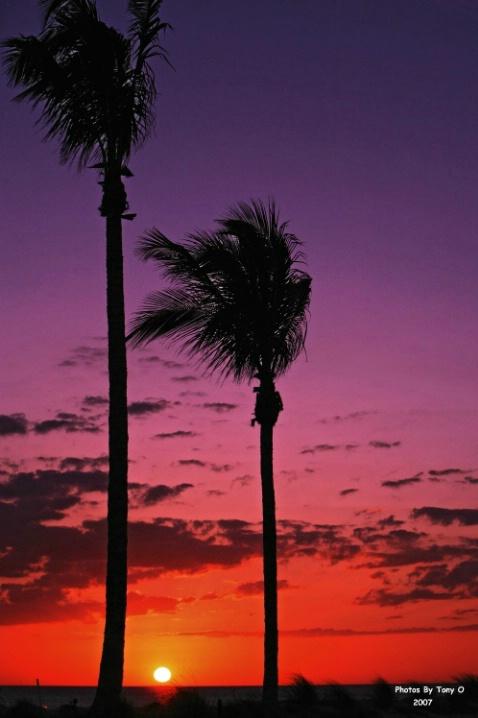 Sunset Over Captiva