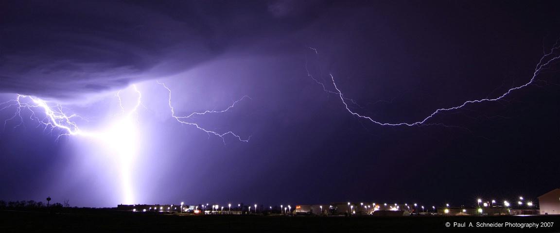 Panoramic Lightning