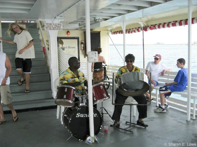 Calypso band on the boat - ID: 3779401 © Sharon E. Lowe