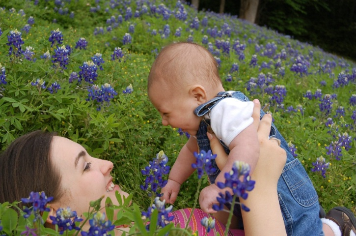 Bluebonnet Baby Fun
