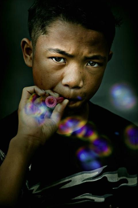 Smokin'... bubbles
