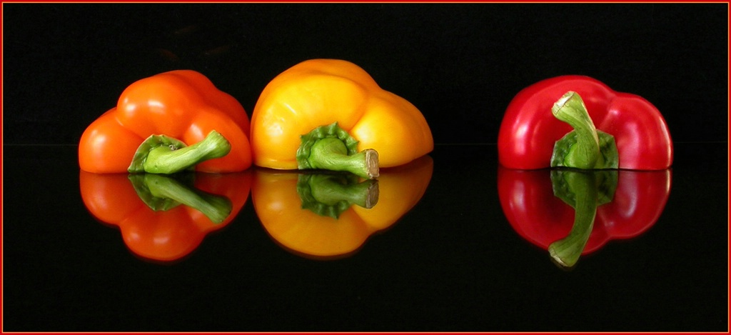 Peppers, Parted - ID: 3817377 © Mary-Ella Bowles