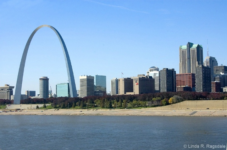 St. Louis Riverfront with Arch - ID: 3820664 © Linda R. Ragsdale