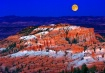 Moonrise at Bryce