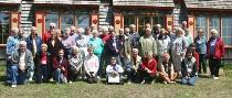 Elderhostelers Group Portrait