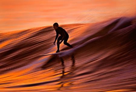 Surfing Liquid Gold