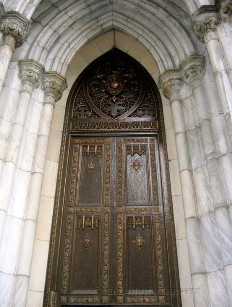 Arched entrance