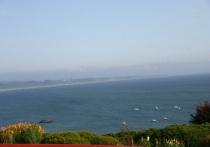 Glorious coastal view
