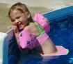 Mattie swimming