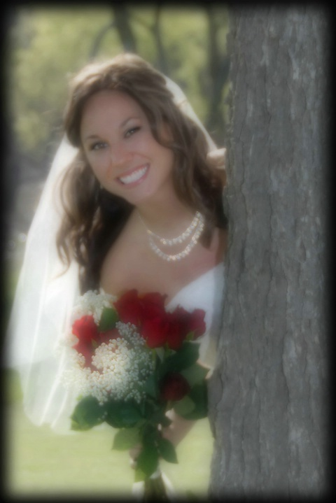 Peeking Bride