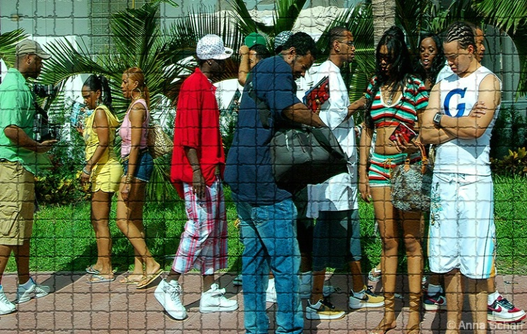 Vacation in Miami (from series Street Mosaic) - ID: 3983007 © Anna Scharf