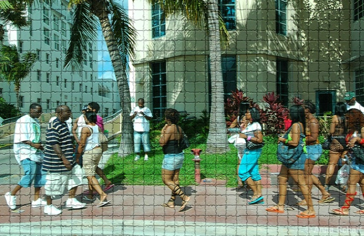 Vacation in Miami (from series Street Mosaic) - ID: 3993311 © Anna Scharf
