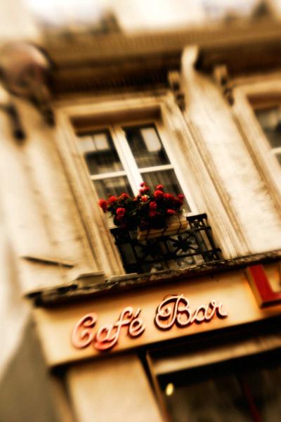 Meet me at the corner cafe....