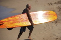 Shining Surfboard