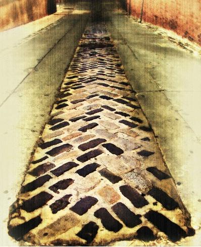 Follow the Center Brick Road