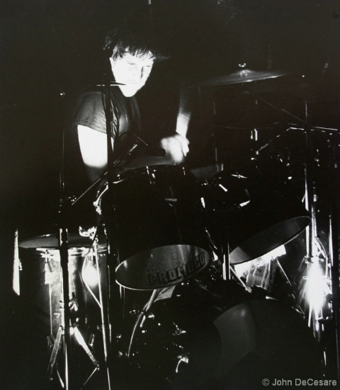 JET BLACK, Stranglers, Ritz, NYC, 10/80  - ID: 4143018 © John DeCesare