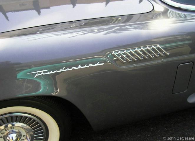 1957 Thunderbird - Detail - ID: 4145492 © John DeCesare