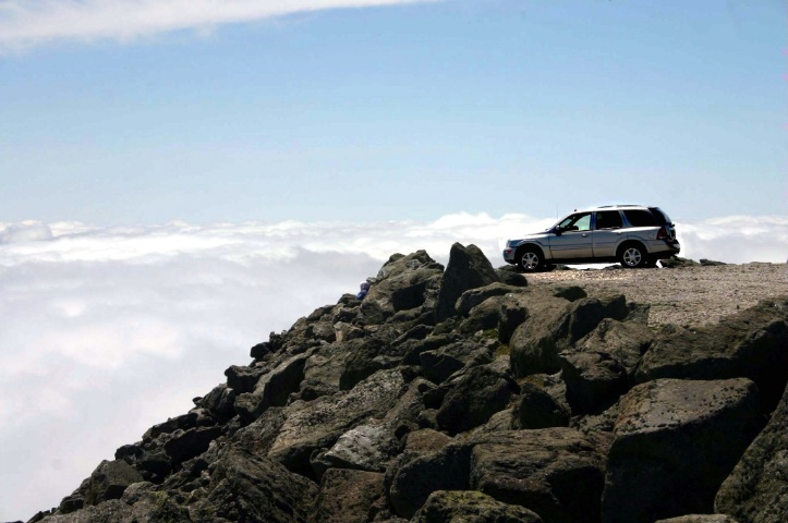 Driven to the top of the World!